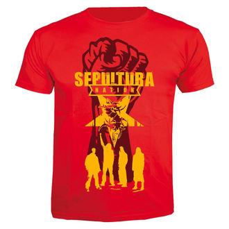 t-shirt metal men's Sepultura - Nation - NUCLEAR BLAST, NUCLEAR BLAST, Sepultura