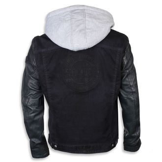 leather jacket AC-DC - Dark blue - NNM