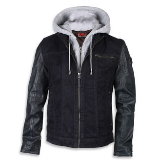 leather jacket AC-DC - Dark blue - NNM, NNM, AC-DC