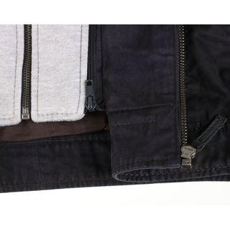 leather jacket AC-DC - Dark blue - NNM