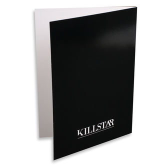 Wish card KILLSTAR - Pisces - BLACK, KILLSTAR