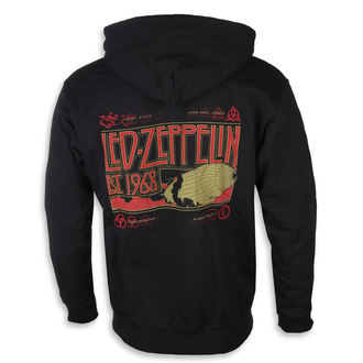 hoodie men's Led Zeppelin - Zeppelin & Smoke Black - NNM, NNM, Led Zeppelin