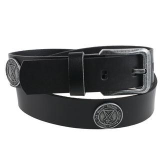 Belt Luciferi - Black, Leather & Steel Fashion