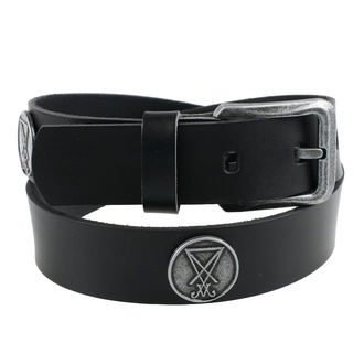 belt Luciferi - Black, Leather & Steel Fashion
