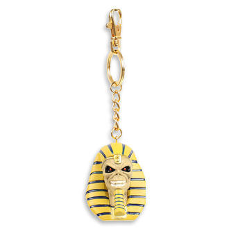 Key ring (pendant) Iron Maiden - Legacy of the Beast - Pharaoh Head, NNM, Iron Maiden