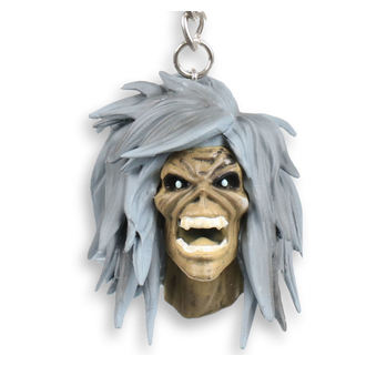 Key ring (pendant) Iron Maiden - Legacy of the Beast - Holy Smokes Eddie, NNM, Iron Maiden