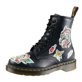 leather boots unisex - 8 dírkové - Dr. Martens, Dr. Martens