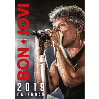 Calendar for year 2019 BON JOVI, NNM, Bon Jovi