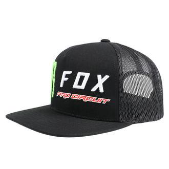 Cap FOX - Monster - Black, FOX