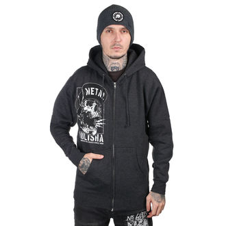 hoodie men's - NO PEACE - METAL MULISHA, METAL MULISHA