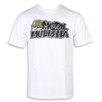 t-shirt street men's - IKON WHT - METAL MULISHA, METAL MULISHA