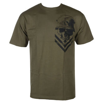 t-shirt street men's - TROOPER MGN - METAL MULISHA, METAL MULISHA