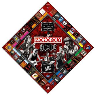 Board game AC / DC - Monopoly, NNM, AC-DC
