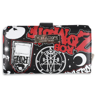 Wallet KILLSTAR - Rob Zombie - Mrs Zombie - BLACK, KILLSTAR, Rob Zombie