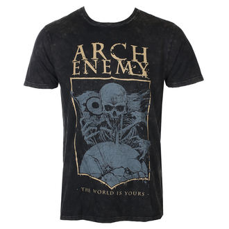 t-shirt metal men's Arch Enemy - The World is yours -, Arch Enemy