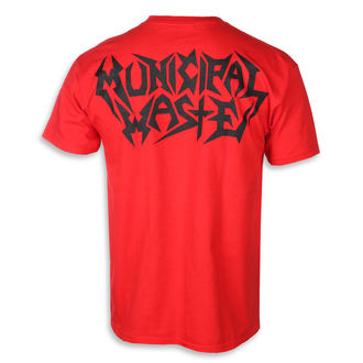 t-shirt metal men's Municipal Waste - Skelbot red -, Municipal Waste