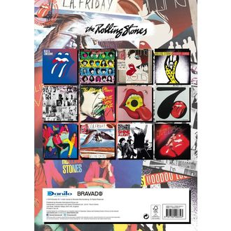 Calendar for year 2019  - ROLLING STONES, Rolling Stones