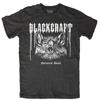 t-shirt men's - Nocturnal Doom - BLACK CRAFT, BLACK CRAFT