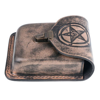 Belt pocket Baphomet, JM LEATHER