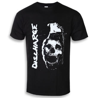 t-shirt metal men's Discharge - Skull Grenade - RAZAMATAZ, RAZAMATAZ, Discharge