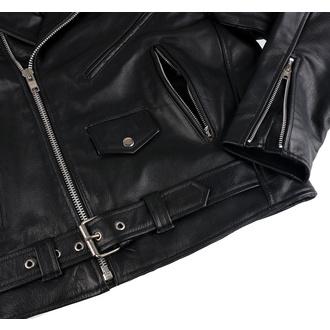 Men's leather biker jacket UNIK - 10.00