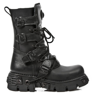 leather boots - ITALI NEGRO OXIDO - NEW ROCK, NEW ROCK