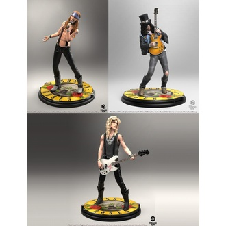 Figures (set) Guns N' Roses - Band - Rock Iconz, KNUCKLEBONZ, Guns N' Roses