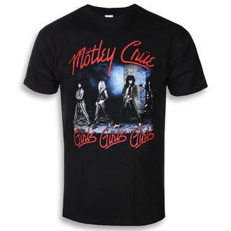 t-shirt metal men's Mötley Crüe - Smokey Street - ROCK OFF, ROCK OFF, Mötley Crüe