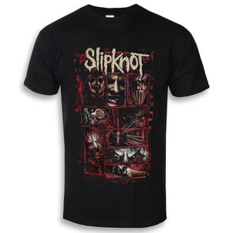 t-shirt metal men's Slipknot - Sketch Boxes - ROCK OFF - SKTS35MB