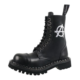leather boots unisex - STEADY´S - STE/10/H_Anarchy white