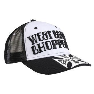 Cap WEST COAST CHOPPERS - CLUTCH LOGO ROUND BILL - Black, West Coast Choppers