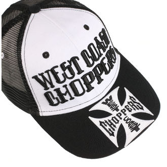 Cap WEST COAST CHOPPERS - CLUTCH LOGO ROUND BILL - Black - WCCPT139ZW
