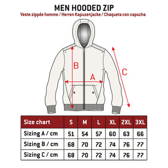 hoodie men's - INFECTIOUS - HYRAW - HY409