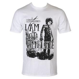 film t-shirt men's Edward Scissorhands - I Am Not Complete - HYBRIS - FOX-1-EDSC001-H7-2-WH