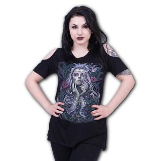 T-Shirt women's - ROCOCO SKULL - SPIRAL - T162F756