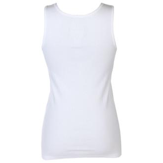 Women's tank top BLACK HEART - ROYAL - WHITE - 011-0047-WHT