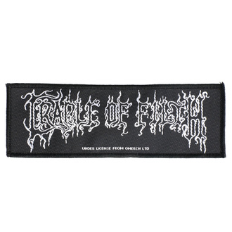 Patch Cradle Of Filth - Logo - RAZAMATAZ - SP3039