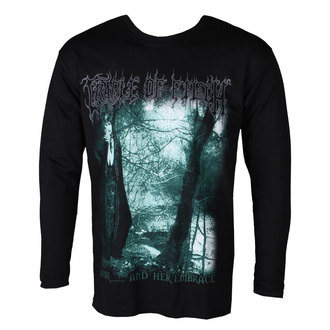 t-shirt metal men's Cradle of Filth - DUSK AND HER EMBRACE - PLASTIC HEAD - PH11565LS