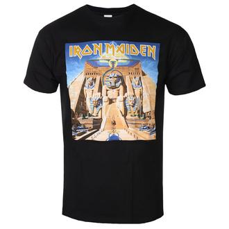 t-shirt metal men's Iron Maiden - Powerslave - ROCK OFF - IMTEE84MB