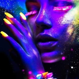 Nail polish STAR GAZER - Neon Blue - SGS219