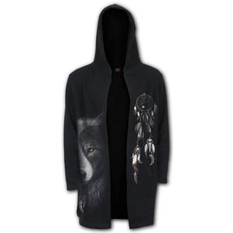 hoodie men's - WOLF CHI - SPIRAL - T118M478