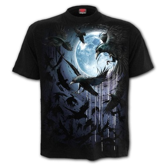 t-shirt men's - CROW MOON - SPIRAL - T175M101