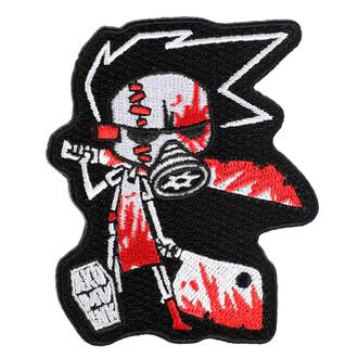 Iron-on patch (patch) AKUMU INK - Butcher III - 15P03