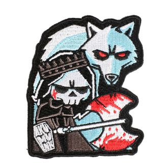 Iron-on patch (patch) AKUMU INK - Conquer Thy Enemy - 15P09