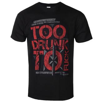 t-shirt metal men's Dead Kennedys - Too Drunk - ROCK OFF - DKTS03MB