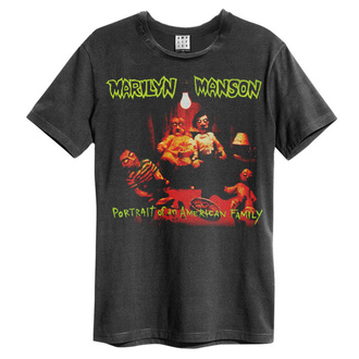 t-shirt metal men's Marilyn Manson - PORTRAIT - AMPLIFIED - ZAV210C97