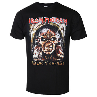 t-shirt metal men's Iron Maiden - Legacy - ROCK OFF - IMTEE86MB