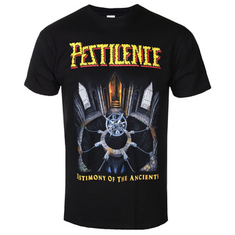 t-shirt metal men's Pestilence - TESTIMONY OF THE ANCIENTS - PLASTIC HEAD - PH11424