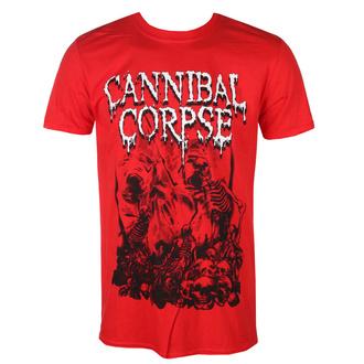 t-shirt metal men's Cannibal Corpse - PILE OF SKULLS 2018 - PLASTIC HEAD - PH11618