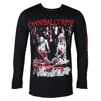 t-shirt metal men's Cannibal Corpse - BUTCHERED AT BIRTH - PLASTIC HEAD - PH11724LS